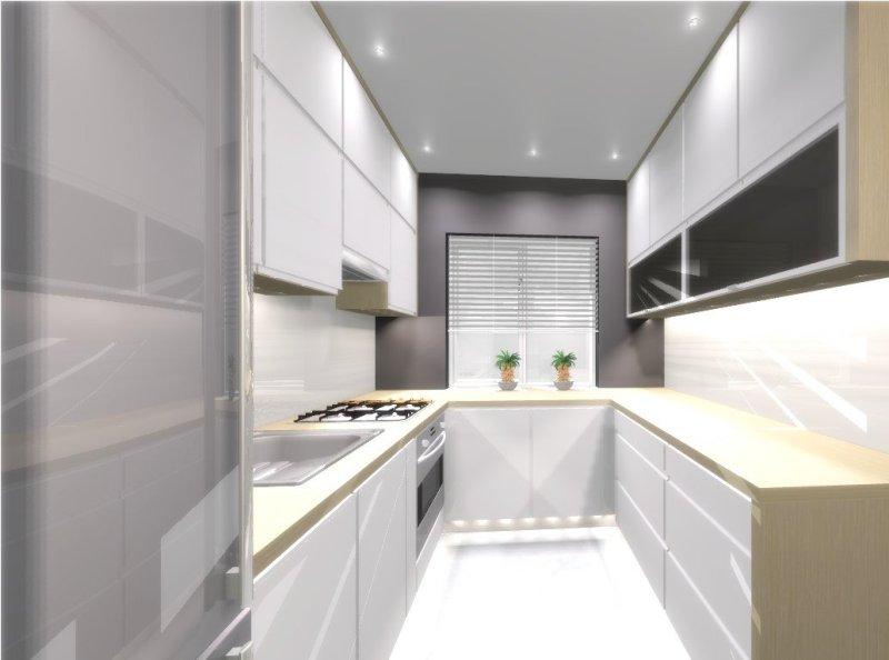 Kuchnia w bloku  Meble Barnowski -> Wąska Kuchnia W Bloku Aranżacje